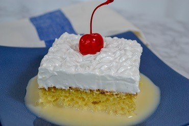 """Tres Leches"" – Three Milks Cake"